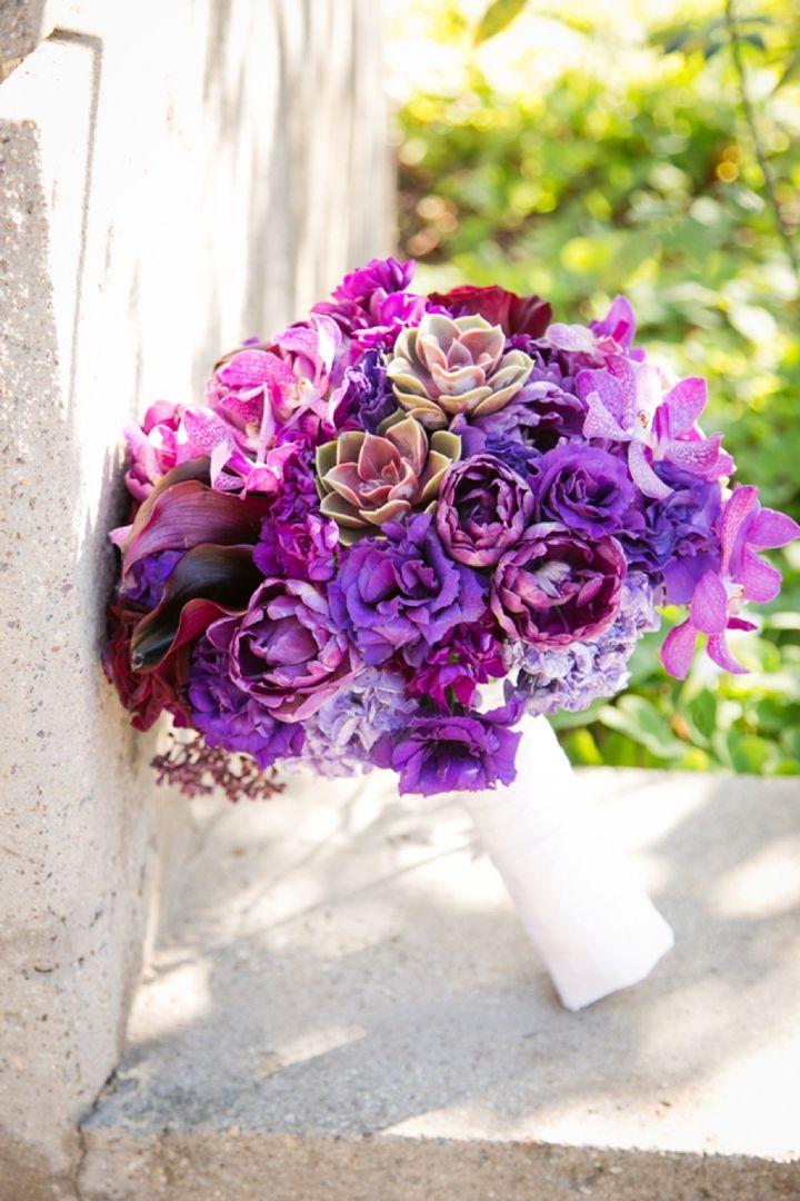 A Purple American History Inspired Wedding Bouquets Wedding Flowers Purple Wedding Diy Wedding Flowers