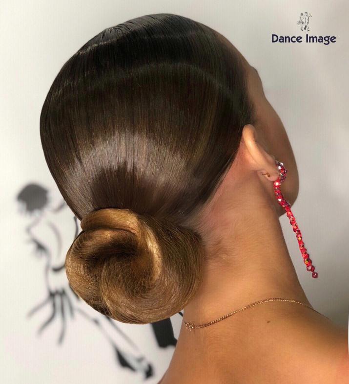 Имидж студия бальные танцы @danceimagepro 👩Прическа ...