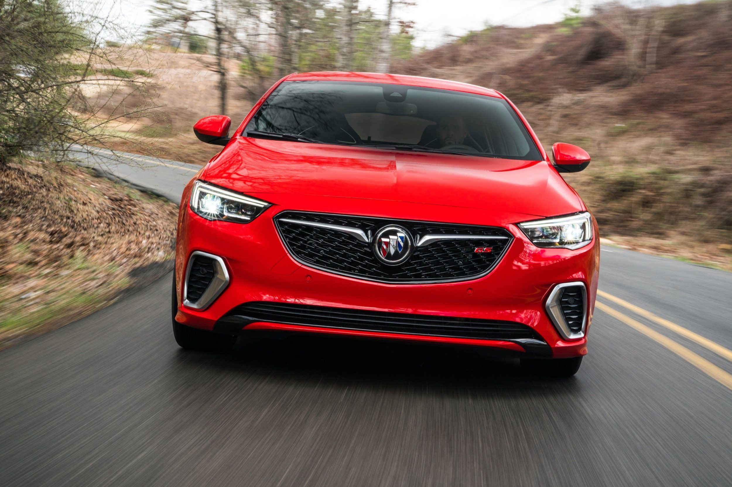 2021 Buick Regal Gs Coupe Images in 2020 | Buick regal gs ...