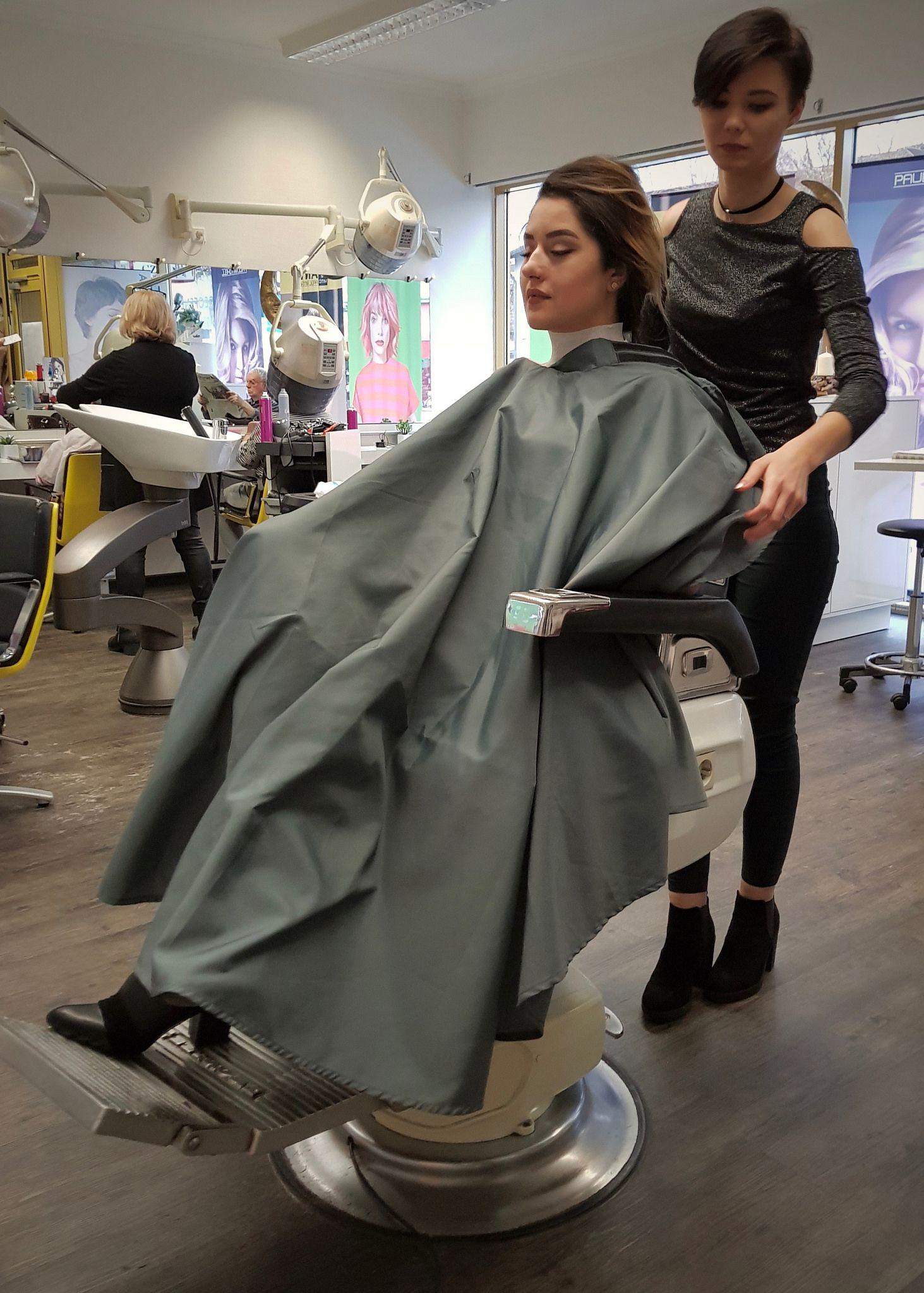 Untitled Trendy Short Hair Styles Salon Hair Dryer Female Barber