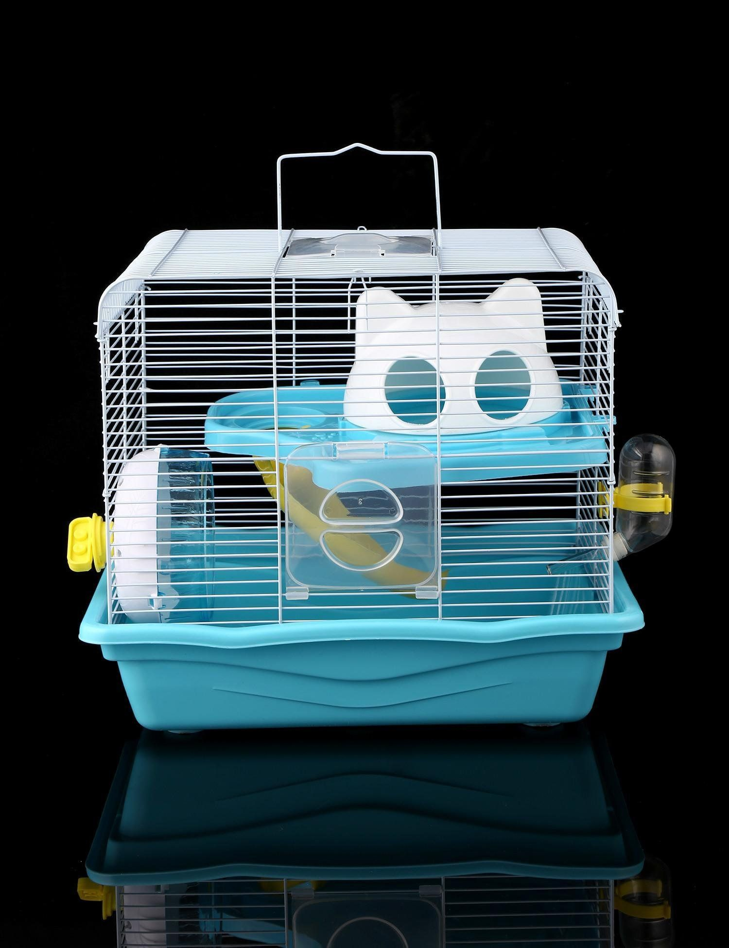 Dwarf Hamster Cage Haven Pet Products Double Layers Blue Check Out This Excellent Item This Is An Affil Dwarf Hamster Cages Hamster Cage Small Animal Cage
