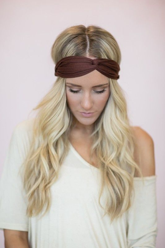 Chocolate Headwrap