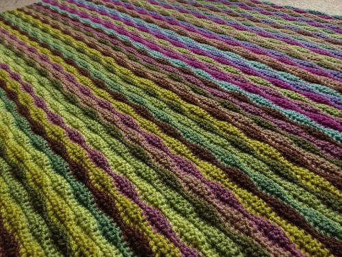 Moorland Blanket Cal Part 3 Blanket Wave Pattern Sea Inspired