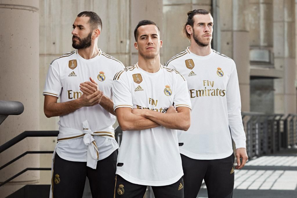 Real Madrid 19 20 Home Kit Released Real Madrid Real Madrid Team Real Madrid Kit