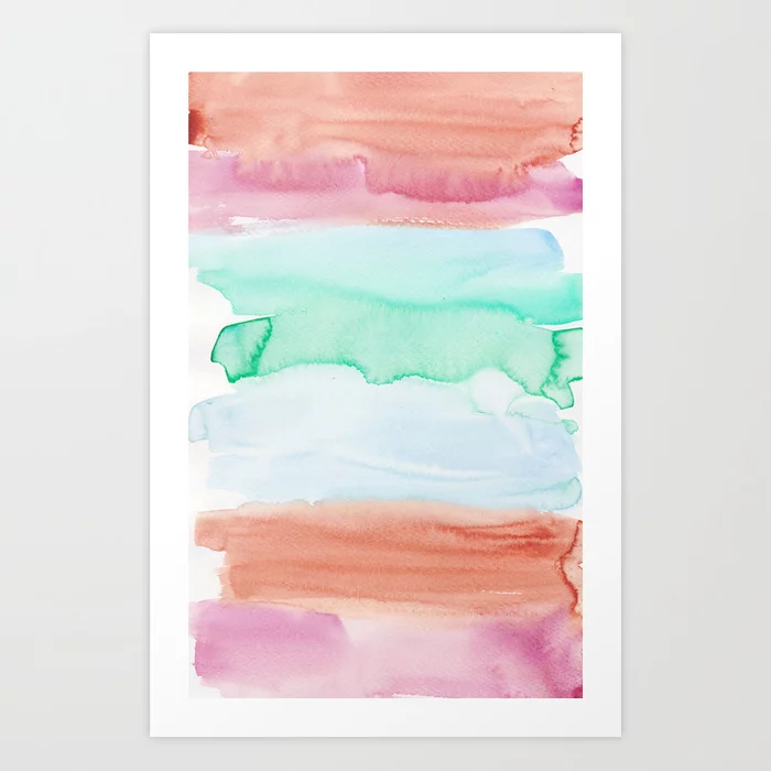 3 | 191215 | Abstract Watercolor Pattern Painting