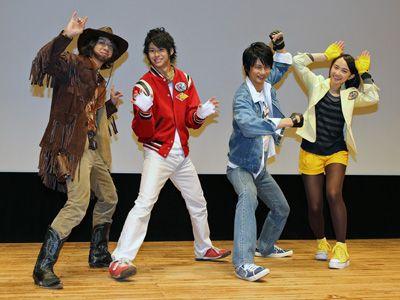 Resultado de imagen de tokumei sentai go-busters