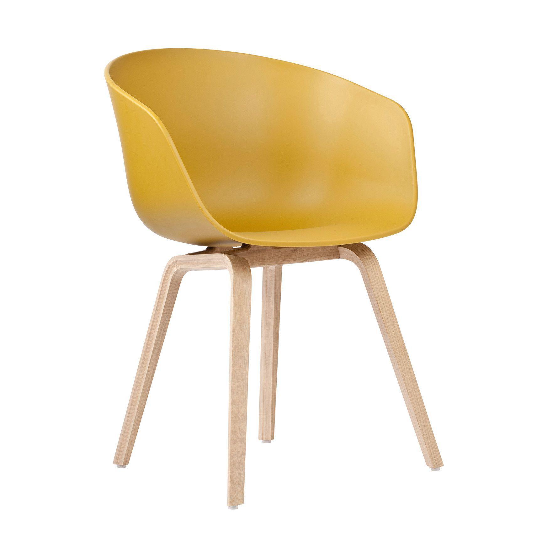 Hay About A Chair Aac22 Eetkamerstoelen Stoelen Mosterd
