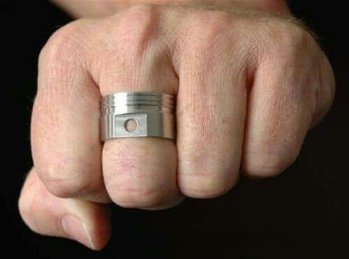 Piston Ring Country Weddings Rings Love This Wedding Ideas Jewelry Wire Wrapped Ranch
