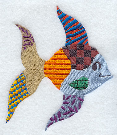 Patchwork Fish Embroidered Quilts Quilt Patterns Quilt Blocks,Neutral Baby Shower Nail Designs