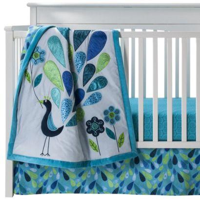 """30/"""" x 40/"""" Sumersault Mix /& Match Knitted Blue Stripe Nursery Baby Blanket"""