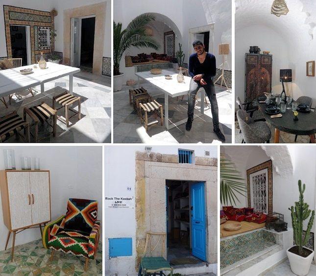Rock the kasbah est un concept total look déco fusion du savoir faire artisanal ancestral tunisien et du design contemporain créé et mise en scène par un