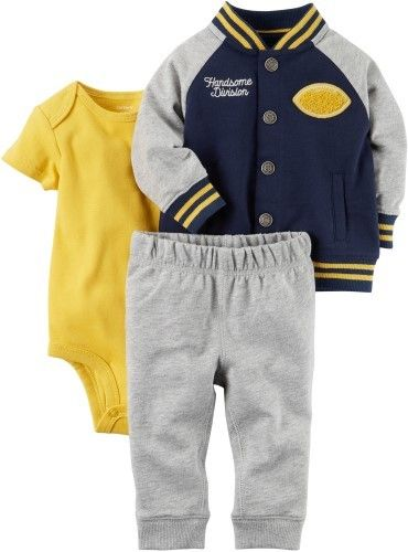 9fdf363b0 Carter's Baby Boys 3-pc. Sports Jacket Layette Set | Products ...