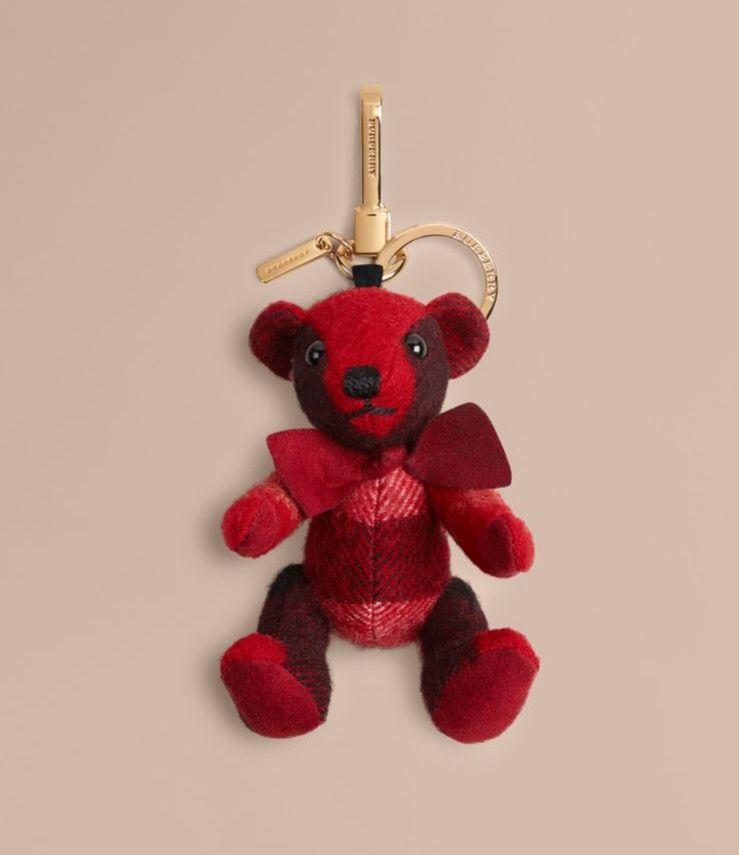 913edad5651b Burberry Thomas Bear Charm in Parade Red  150