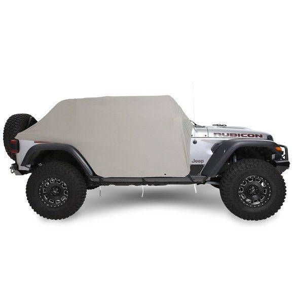 Smittybilt 1071 Cab Cover for 18-20 Jeep Wrangler JL Unlimited | Quadratec