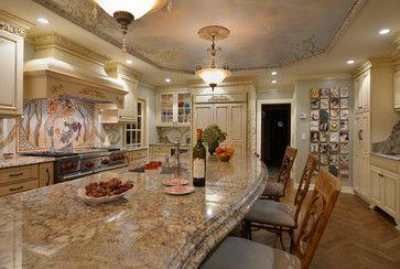 Bordeaux Dream Traditional Kitchen Design Granite Countertops Kitchen Kitchen New York