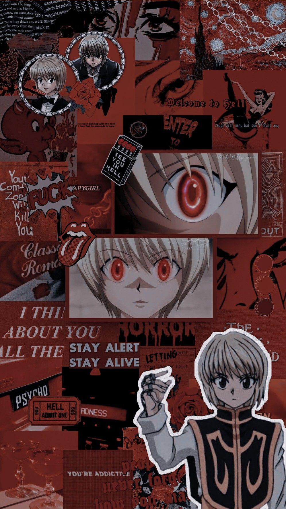 Kurapika Wallpaper Anime Artwork Wallpaper Anime Wallpaper Cute Anime Wallpaper