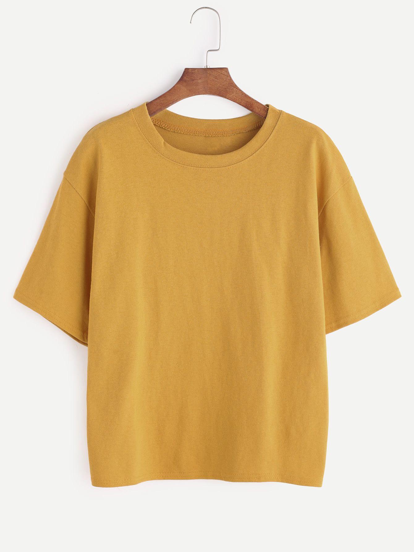 Yellow Aesthetic Shirts - Nils Stucki Kieferorthopäde