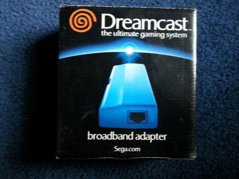 Sega Dreamcast Broadband Adapter New Mk 50176 Retrogaming Hotdc From The Usa Sega Dreamcast Video Game Stores Broadband