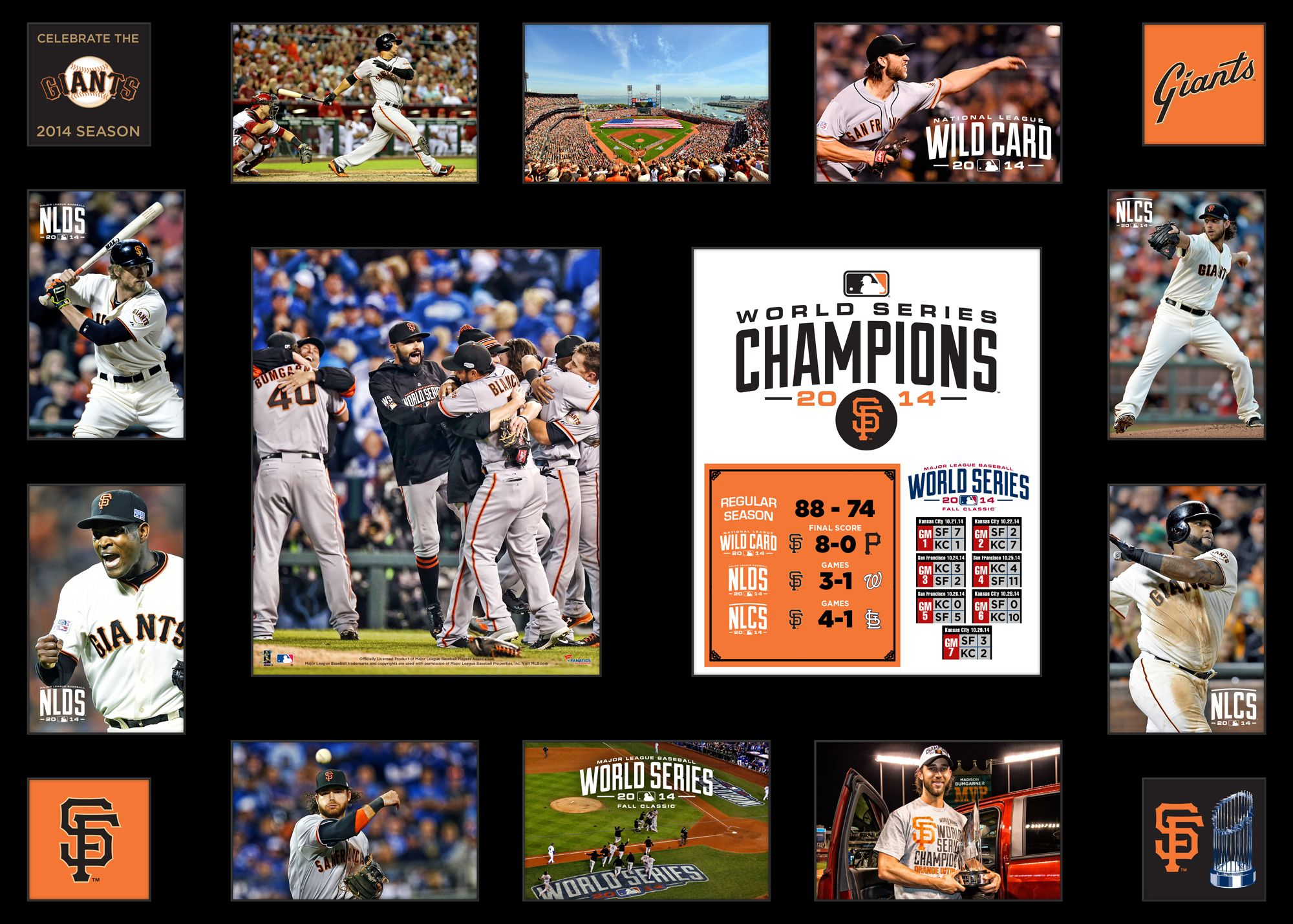 Sf Giants 2014 World Series San Francisco Giants Giants