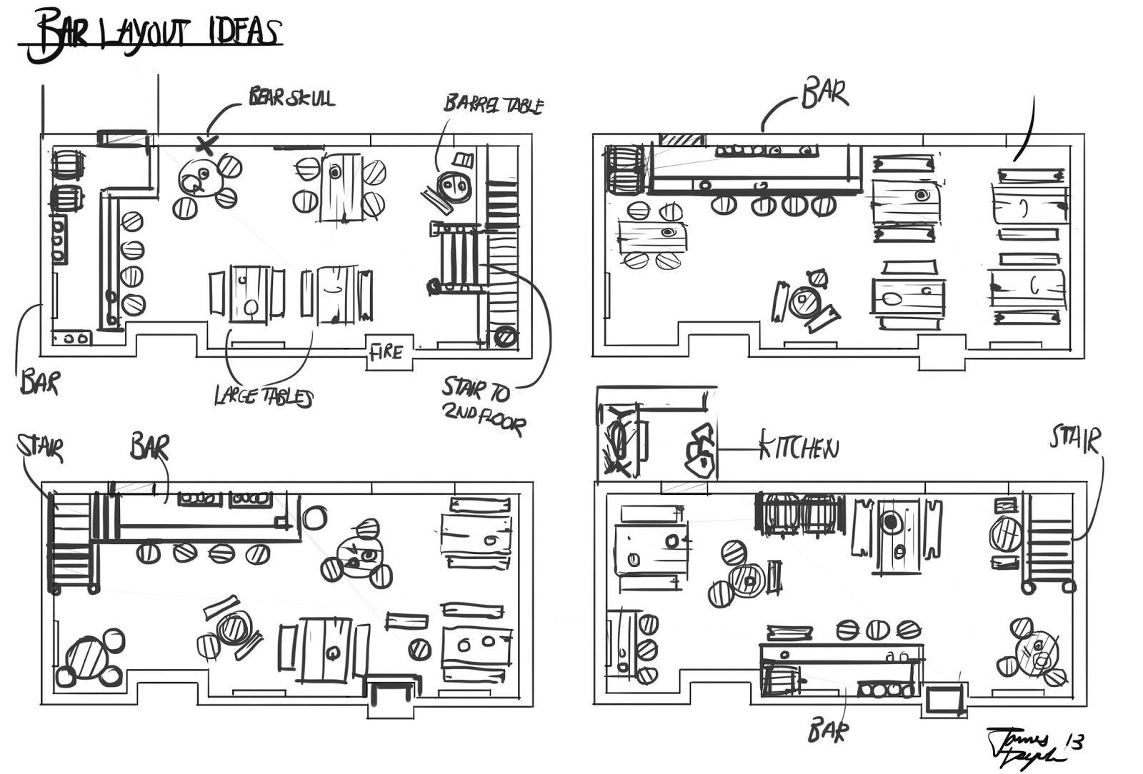 Kitchen layout tool decorative restaurant