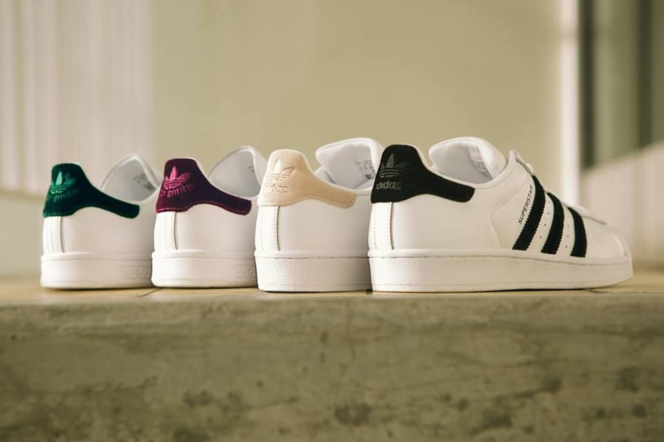 adidas originals superstar velvet dames