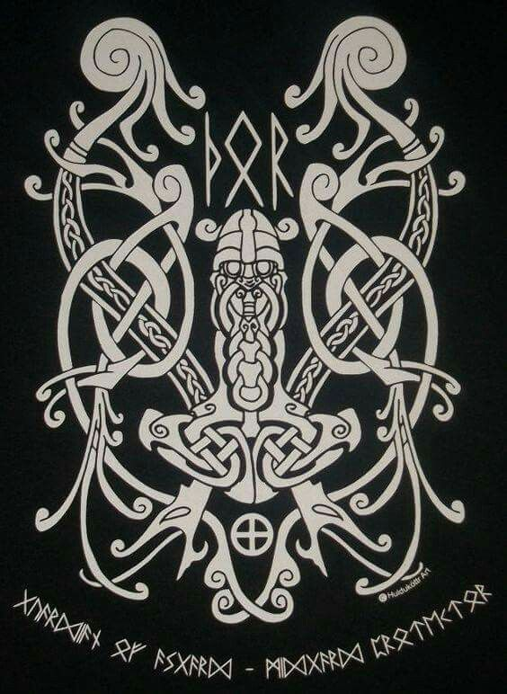 Pin Od Redbeard Na Wzory Celtyckie Wikingowie I Wzory