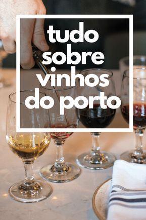 Um guia completo gratuito com tudo sobre os Vinhos do Porto (spoiler: não, eles não vem da região de Porto em Portugal!).   #vinho #vinhodoporto #wine #portwines
