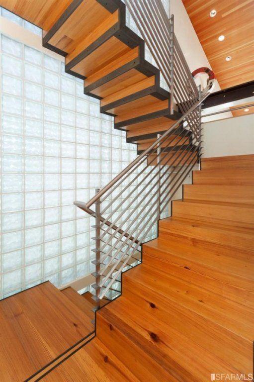 Steel-framed staircase