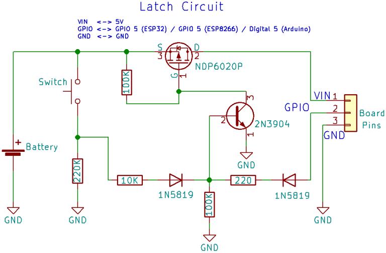 Outstanding Power Latch Circuit Schematics Esp32 Esp8266 Arduino Technology In Wiring Digital Resources Zidurslowmaporg