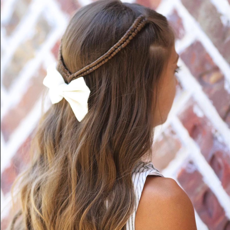 Cgh infinity tie back braids hair pinterest infinity hair