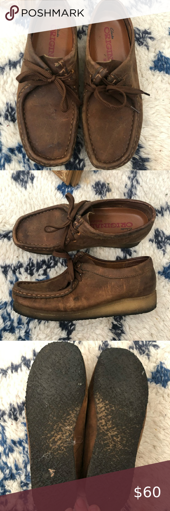 Clark S Wallabees In 2020 Classic Shoes Dark Brown Leather Clarks Wallabees