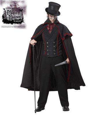 London Jack The Ripper Adult Men Costume Serial Killer | Costumes
