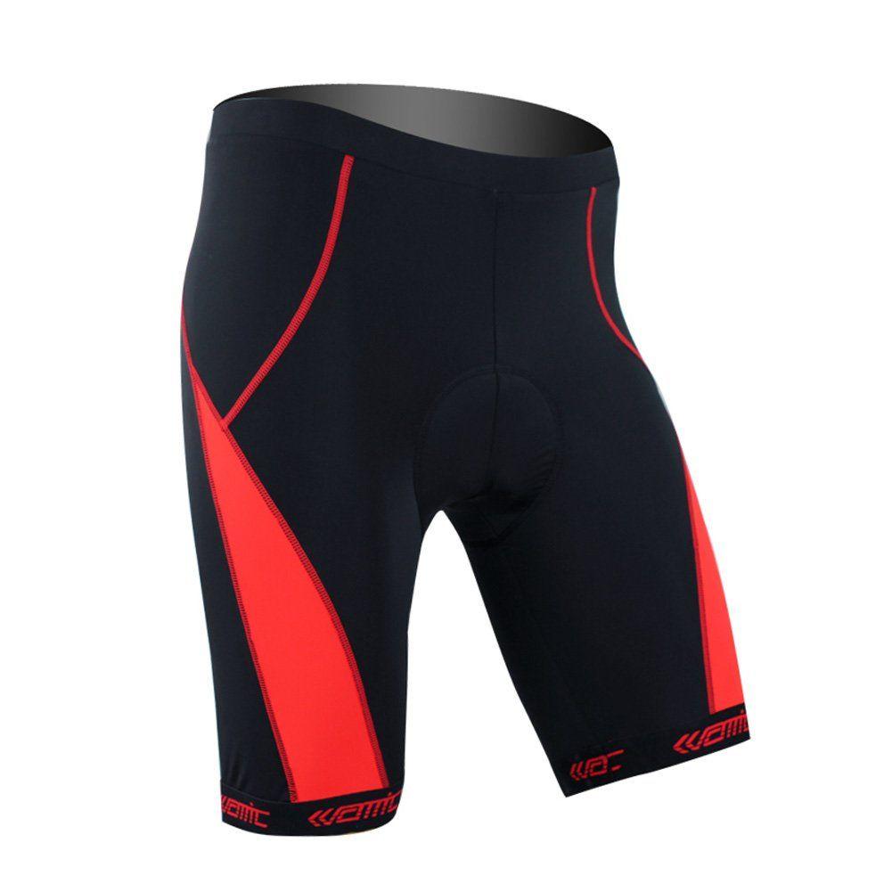 Santic Cycling Shorts Biking Bicycle Bike Shorts Black Padded L