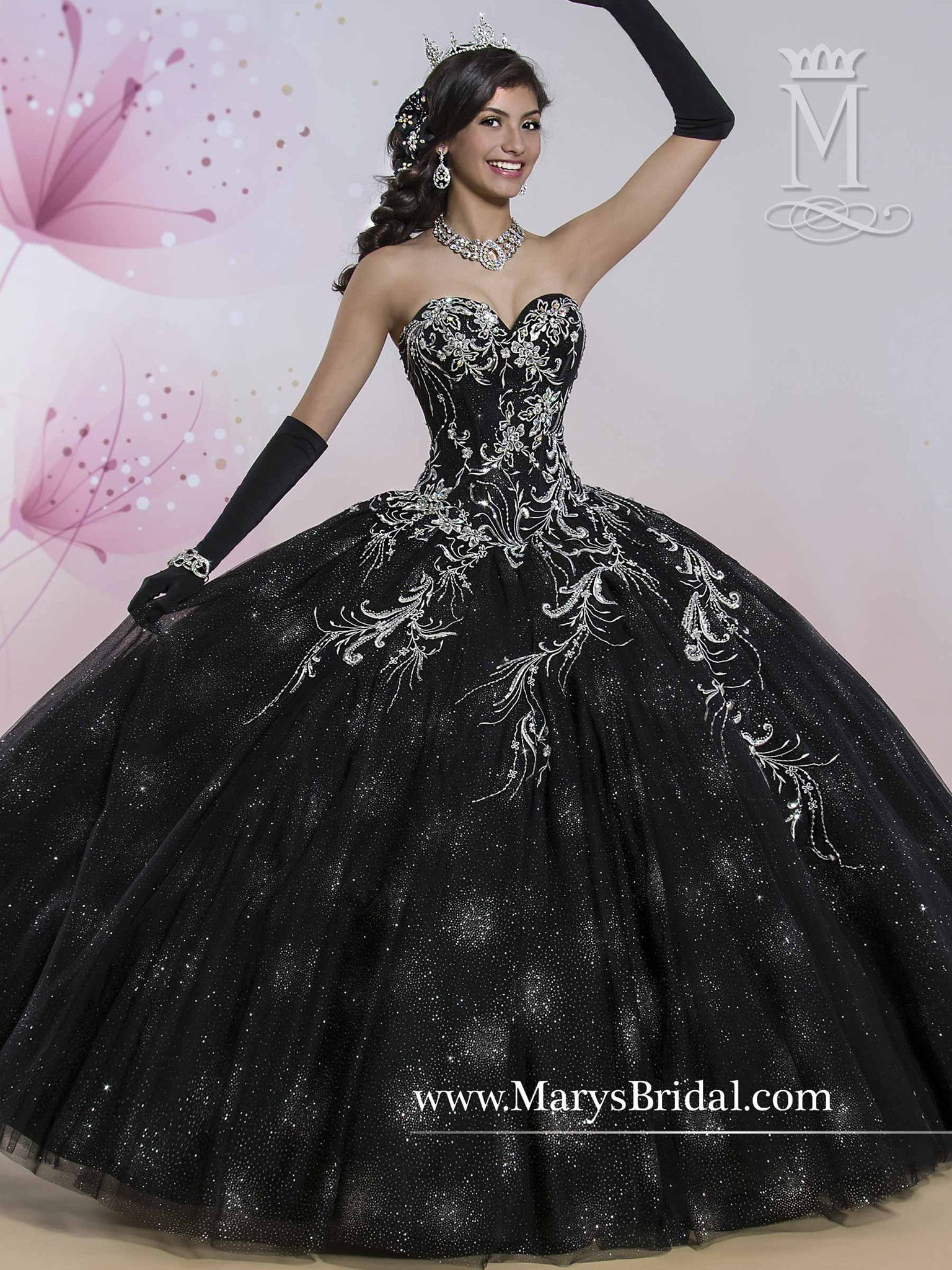 Mary 39 s bridal princess collection quinceanera dress style for Wedding style prom dresses