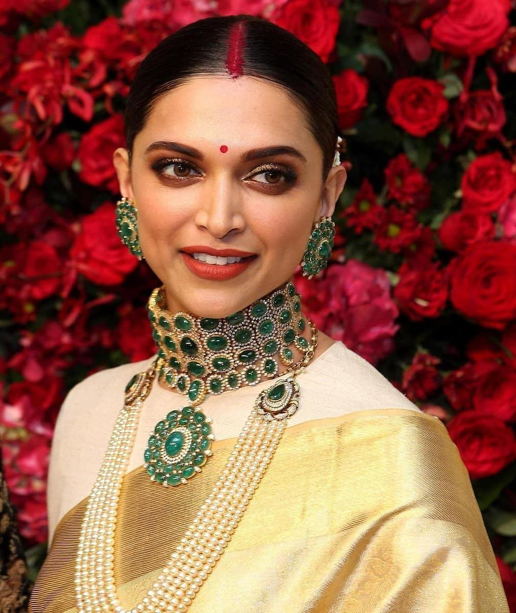 The classy bride Deepika Padukone ️ ...