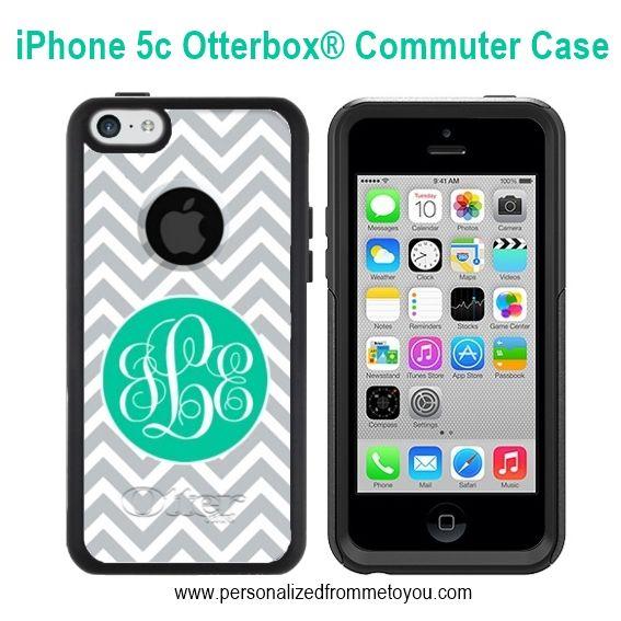 Monogrammed Otterbox iPhone 5c