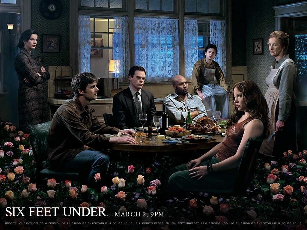 The Final Episode Of Six Feet Under Played A Long While Back Best Series Finale Ive Ever Seen But You Can Get The Dvd Sets Relatively Cheap 15 At