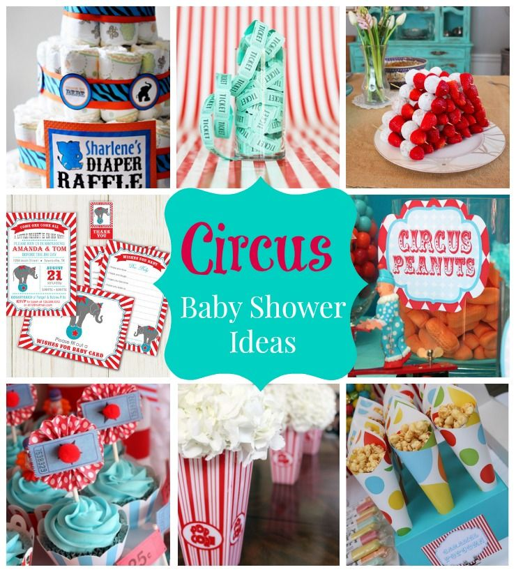 how to plan a circus baby shower savvy sassy moms party ideas