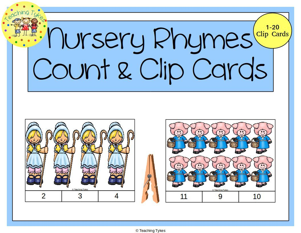 Practice Counting 1 20 With Nursery Rhymes