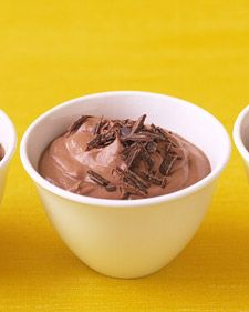 Yummy-Tofu Chocolate Mousse...sounds gross, but is fantastic!