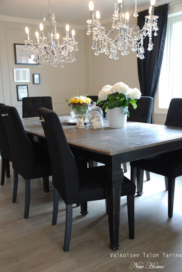 our dining room table