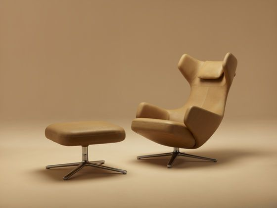 Poltrona Grand Repos Vitra.Jointly Developed By Vitra And Antonio Citterio The Lounge Chairs