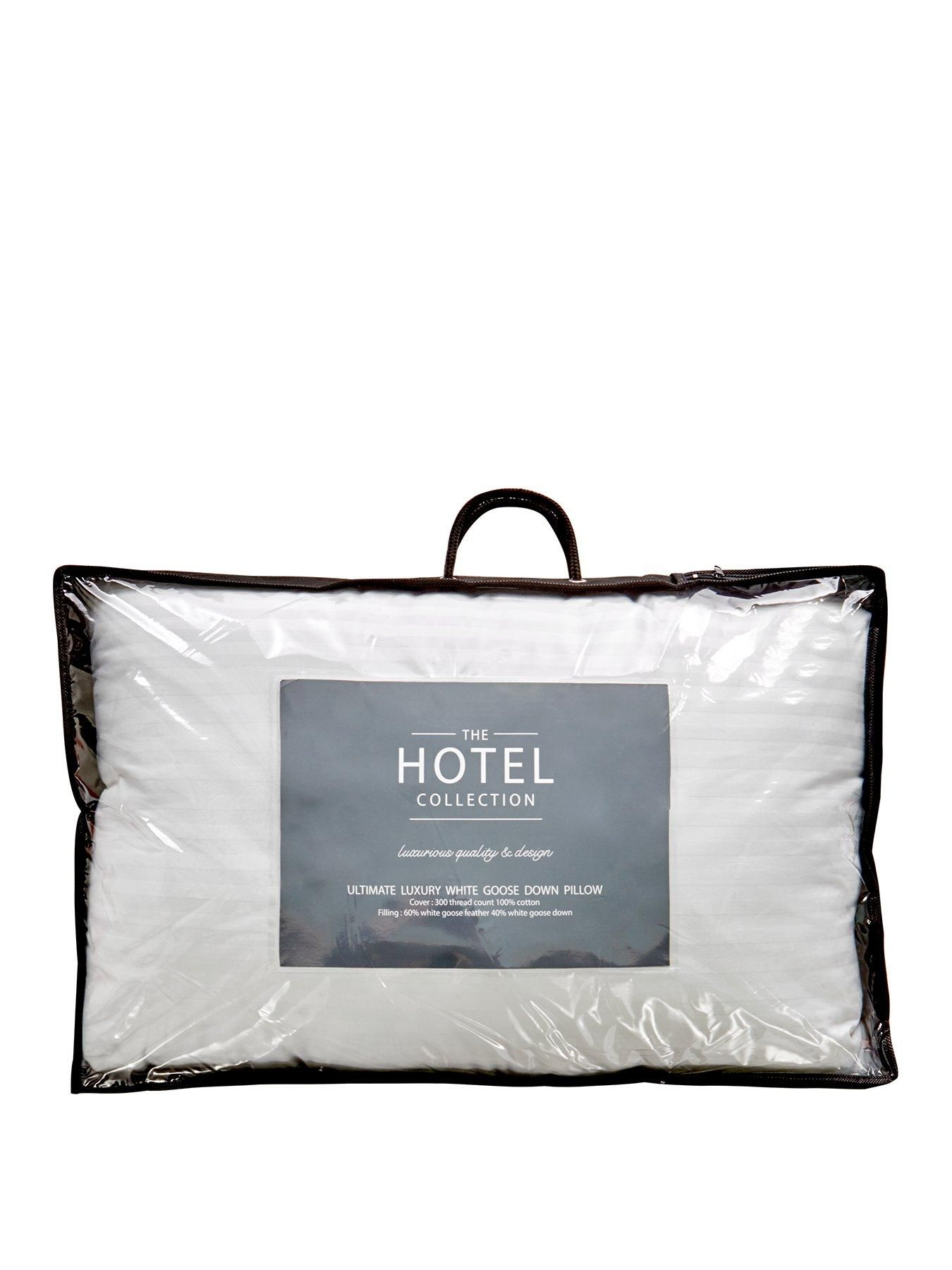 Hotel Collection Ultimate Luxury White Goose Down Pillow Single