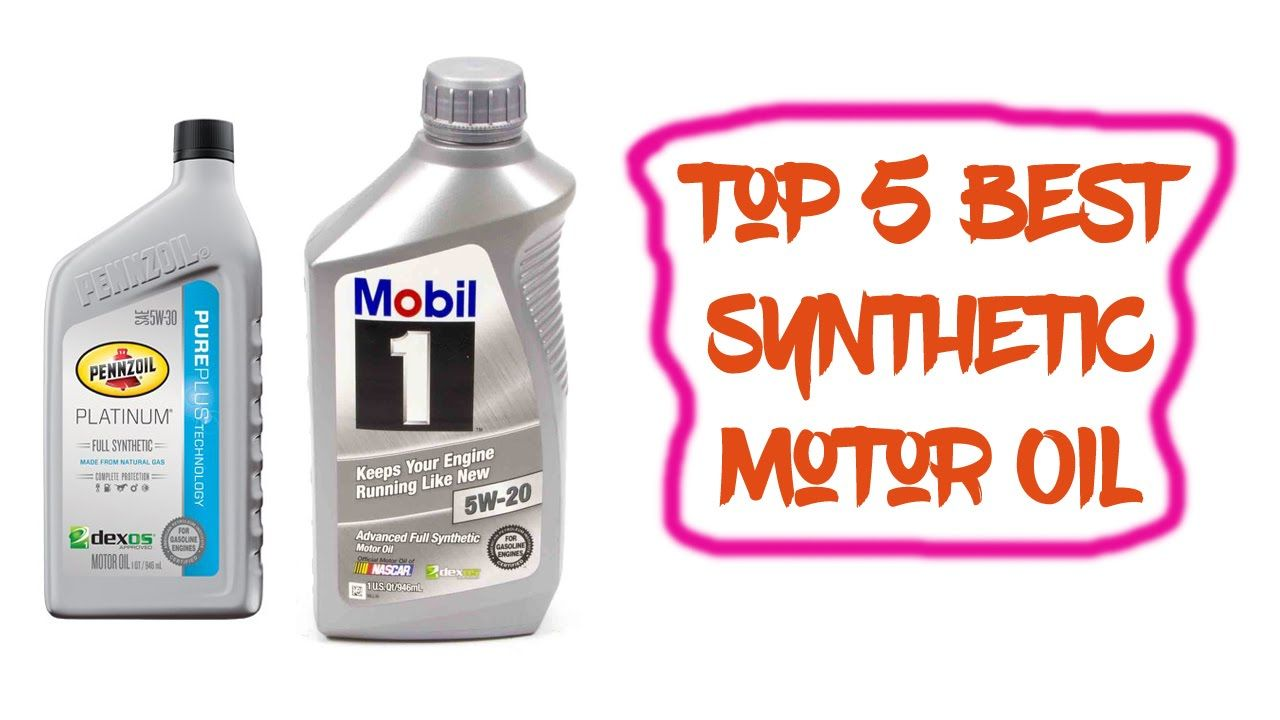 Best Synthetic Motor Oil >> Top 5 Best Synthetic Motor Oil Reviews 2016 Best Synthetic
