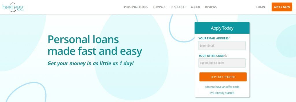 Best Egg Personal Loans Review With Images Personal Loans