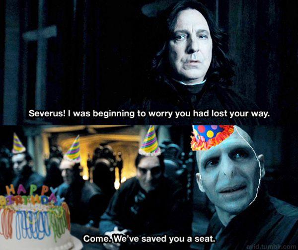 Come We Saved You A Seat Harry Potter Birthday Meme Harry Potter Funny Pictures Harry Potter Funny