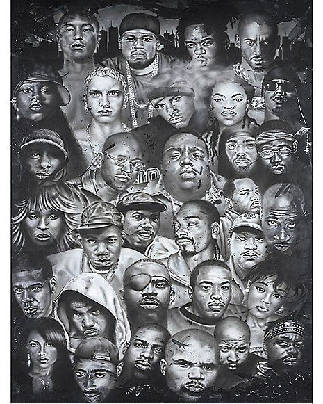 Hip Hop Artists Poster Spencer 39 S Hip Hop Poster Hip Hop Artwork Hip Hop Artists