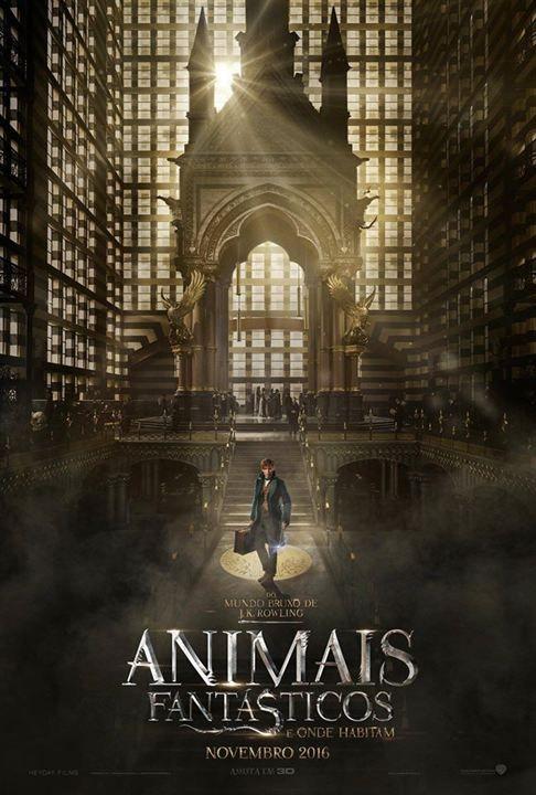 Animais Fantasticos E Onde Habitam Poster Bestas Fantasticas