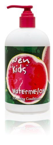 WEN Kids Cleansing Conditioner (Watermelon) by WEN Kids. $34.95. Menthol Free; Soy Free; Tear Free; Nut Free; Wheat Free. WEN KidsTM is a universal cleansing conditioner designed to be incredibly gentle, while still thoroughly cleansing and moisturizing your children's hair. This menthol-free formula is made exclusively with rice protein and contains no nuts, no wheat and no soy ingredients, making it safe to use even for those with many common allergies. WEN KidsTM Clea...