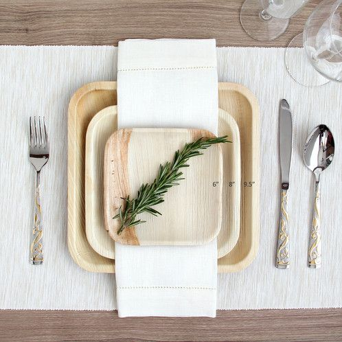 Image Result For Palm Leaf Plate Wedding Palm Leaf